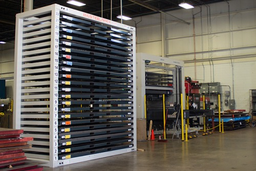 Steel Rack and Material Handling Tower